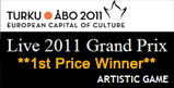Turku Live 2011 Grand Prix - 1st Price Winner - Artistic Game